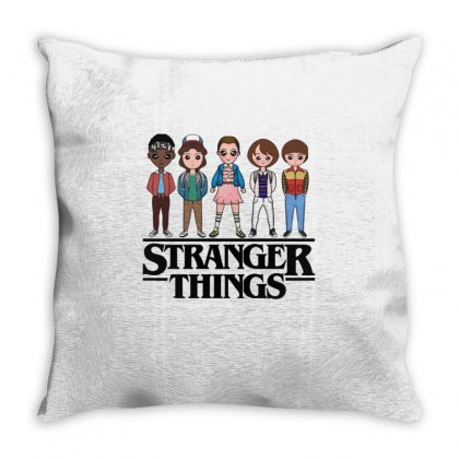 Stranger Things Throw Pillow Designed By Vanitty