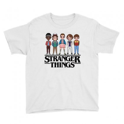 Stranger Things Youth Tee Designed By Vanitty