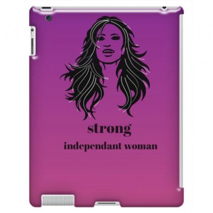 Strong Independent Woman Ipad 3 And 4 Case Designed By Emanashraf