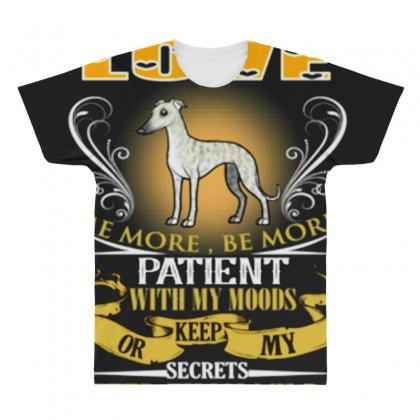 No One On Earth Love Me More My Dog All Over Men's T-shirt Designed By Anrora