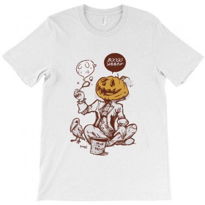 Boo Yaa Trick Or Treat T-shirt Designed By Teesclouds