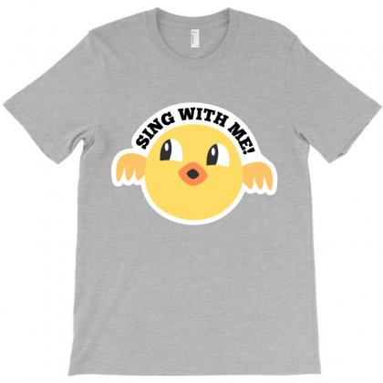 Sing With Me Cartoon T-shirt T-shirt Designed By Tudtoojung