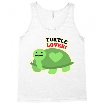 Turtle Lover Cartoon T-shirt Tank Top Designed By Tudtoojung
