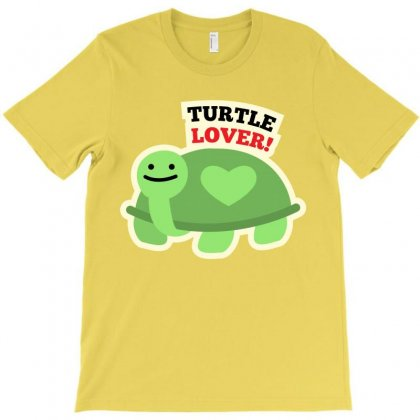 Turtle Lover Cartoon T-shirt T-shirt Designed By Tudtoojung