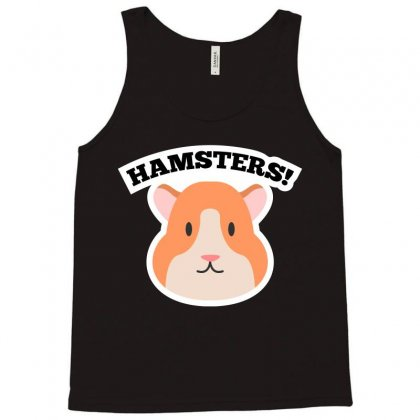 Lovely Hamsters Cartoon T-shirt Tank Top Designed By Tudtoojung