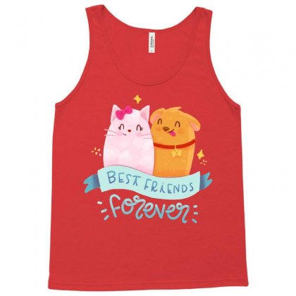 Best Friends 2  Forever Cartoon T-shirt Tank Top Designed By Tudtoojung