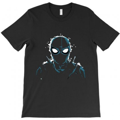 Spiderman King Of Night T-shirt Designed By Teesclouds