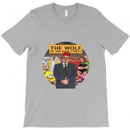 The Wolf Of Ain Diab Street T-shirt Designed By Moustach