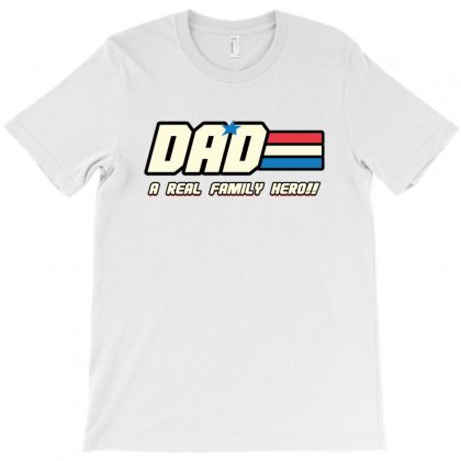 Dad A Real Family Hero T-shirt Designed By Sengul