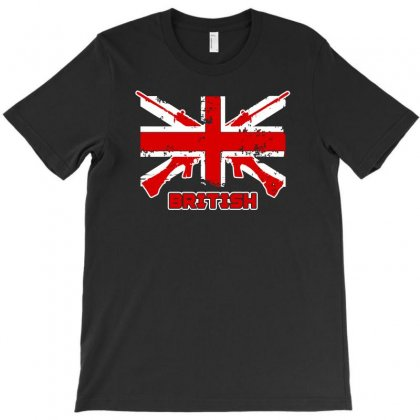 British Flag T-shirt Designed By Satrio Art