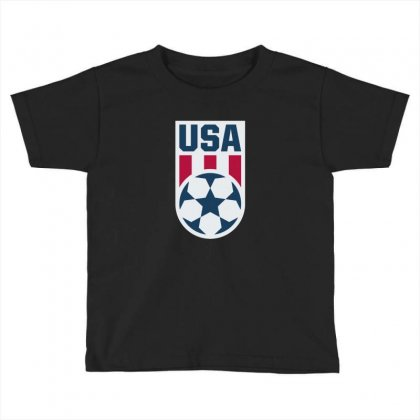 Stars And Stripes Toddler T-shirt Designed By Cahyorin