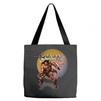 Conan The Barbarian Tote Bags Designed By Allison Serenity