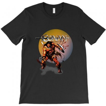 Conan The Barbarian T-shirt Designed By Allison Serenity