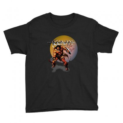 Conan The Barbarian Youth Tee Designed By Allison Serenity