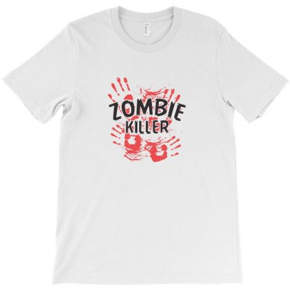 Zombie Killer T-shirt Designed By Funtee