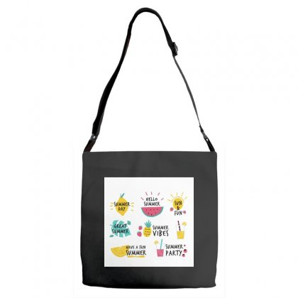 Summer Adjustable Strap Totes Designed By Trees