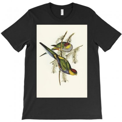 Bird Vintage T-shirt Designed By Trees