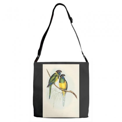 Birds Adjustable Strap Totes Designed By Trees