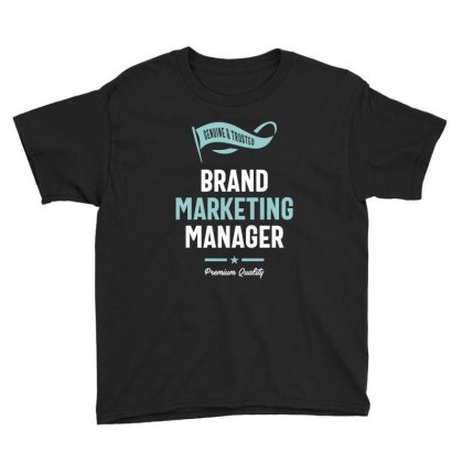 Brand Marketing Manager Youth Tee Designed By Cidolopez