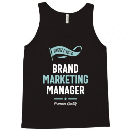 Brand Marketing Manager Tank Top Designed By Cidolopez