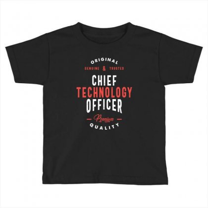 Chief Technology Officer Toddler T-shirt Designed By Cidolopez