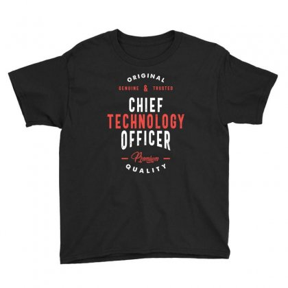Chief Technology Officer Youth Tee Designed By Cidolopez