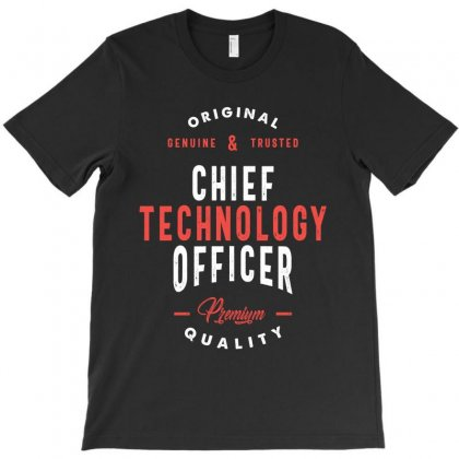 Chief Technology Officer T-shirt Designed By Cidolopez