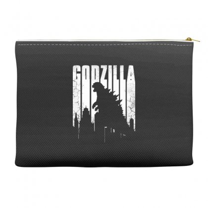 Godzilla  Vintage Accessory Pouches Designed By Allison Serenity