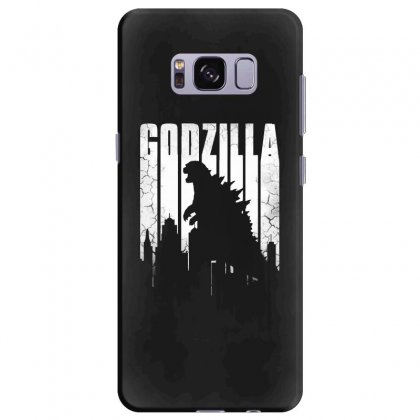 Godzilla  Vintage Samsung Galaxy S8 Plus Case Designed By Allison Serenity