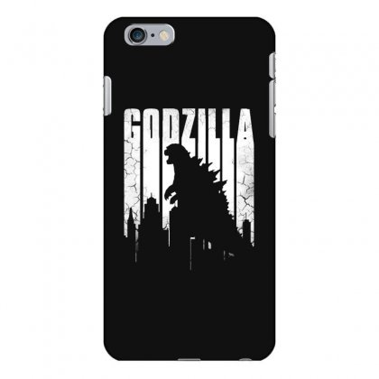 Godzilla  Vintage Iphone 6 Plus/6s Plus Case Designed By Allison Serenity