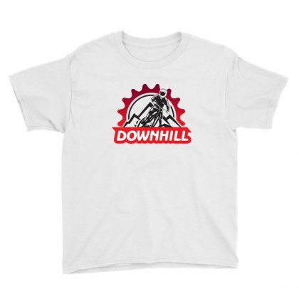 Downhill Youth Tee Designed By Rardesign