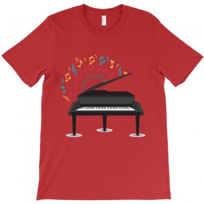 Piano T-shirt Designed By Rardesign