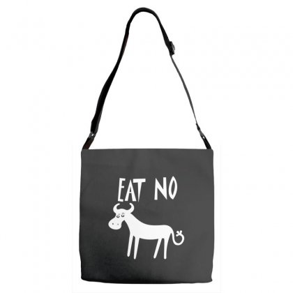 Eat No Cow Adjustable Strap Totes Designed By Leodrolic