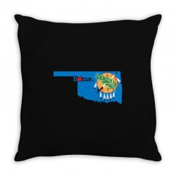 oklahoma sweet home Throw Pillow | Artistshot