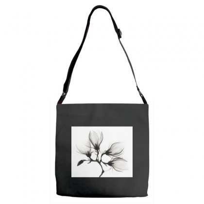 Flower Adjustable Strap Totes Designed By Trees