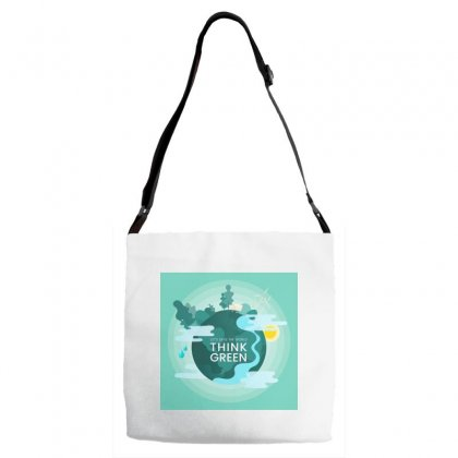 Mother Nature Adjustable Strap Totes Designed By Trees
