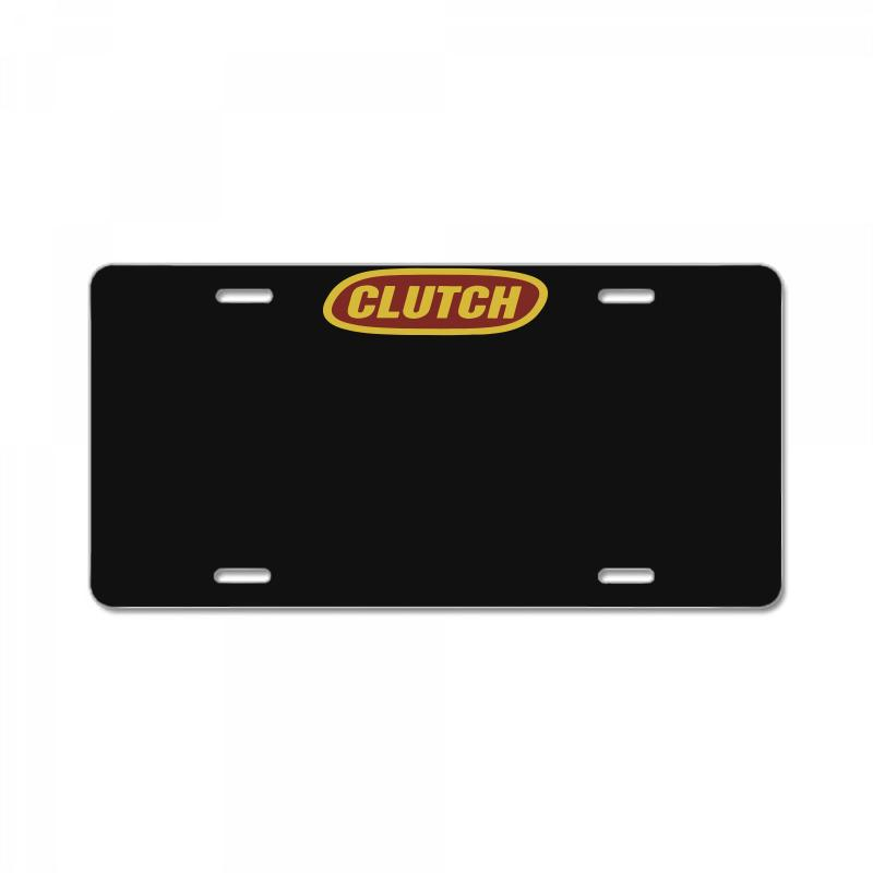 Clutch Black License Plate | Artistshot