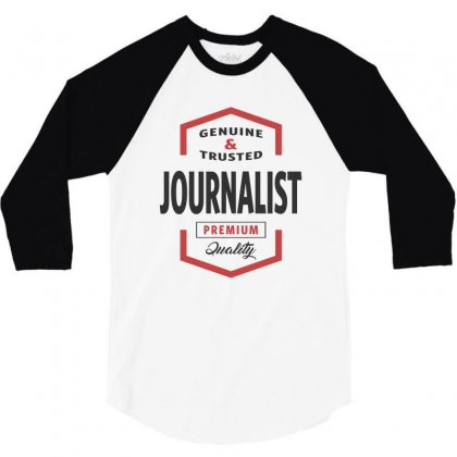 Journalist 3/4 Sleeve Shirt Designed By Chris Ceconello