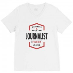 Journalist V-Neck Tee | Artistshot