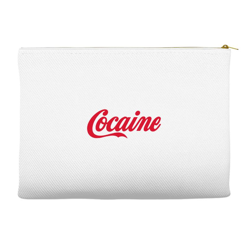 Cocaine Funny Accessory Pouches | Artistshot
