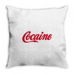cocaine funny Throw Pillow | Artistshot
