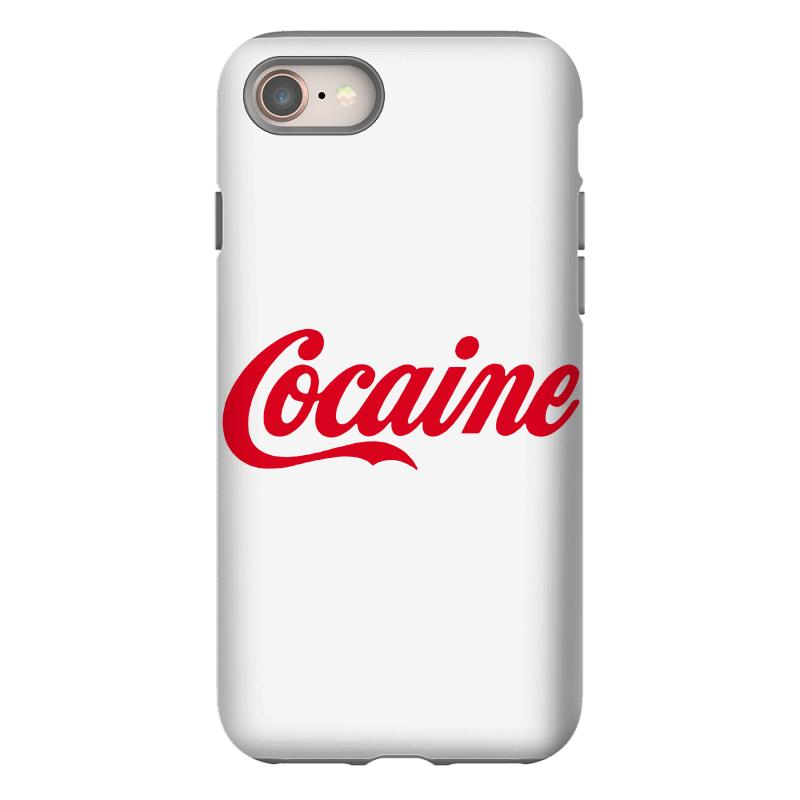 Cocaine Funny Iphone 8 Case | Artistshot