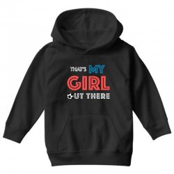 my girl out there Youth Hoodie | Artistshot