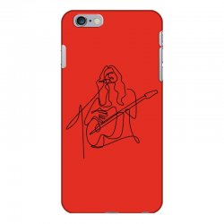rock musician one line illustration iPhone 6 Plus/6s Plus Case | Artistshot