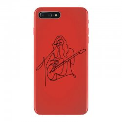 rock musician one line illustration iPhone 7 Plus Case | Artistshot