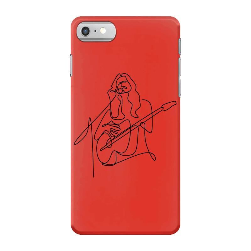 Rock Musician One Line Illustration Iphone 7 Case | Artistshot