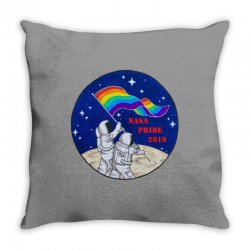 nasa pride 2019 Throw Pillow | Artistshot