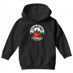 national parks camping Youth Hoodie | Artistshot