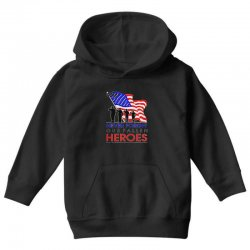 never forget our fallen heroes memorial day Youth Hoodie | Artistshot
