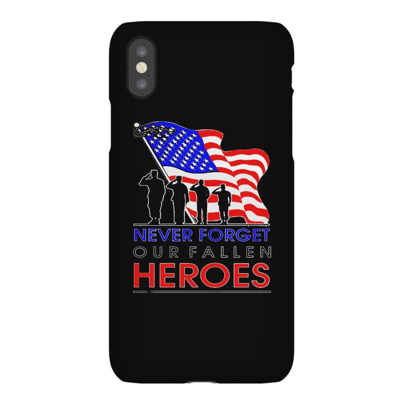 Never Forget Our Fallen Heroes Memorial Day Iphonex Case | Artistshot